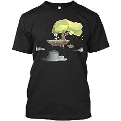 Camiseta Teespring con Impresión para Hombres y Mujeres - S - Poly Panda Bear