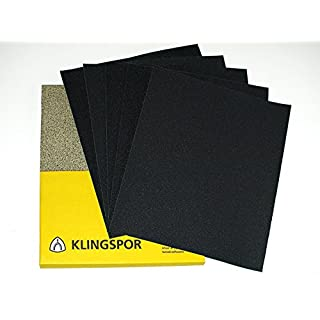 Grit 320 Wet And Dry Sandpaper P320 Extra Fine Sand Paper