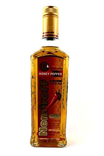 """Wodka aus der Ukraine """"Nemiroff"""" Hönig&Peperoni, 0,5L"""