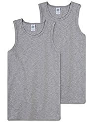 Sanetta - Camiseta interior - Sin mangas - para niño