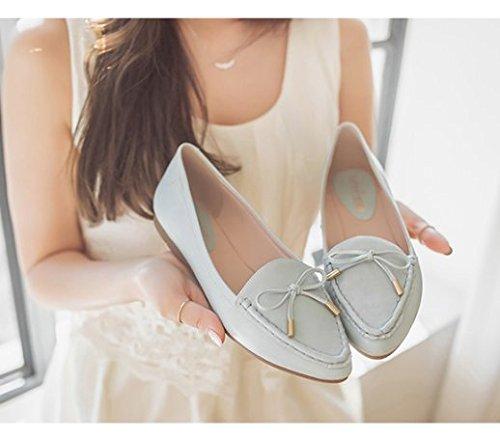 Chaussures printemps/Arc doux pointues plates, chaussures peu profonde et de loisirs B
