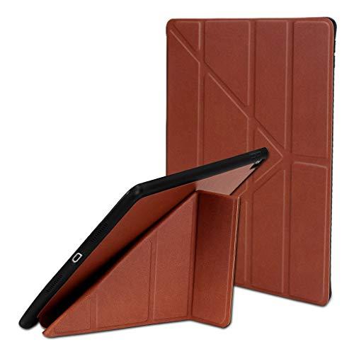 Gaddrt Hüllen für Tablets For iPad Air/Pro 10,5-Zoll-Tablet-Hülle für Stifthalter Auto Sleep/Wake 2019 (Brown) - Pro Essenz