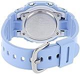 BABY-G Mixte Adulte Analogique-Digital Quartz Montre avec Bracelet en Résine BLX-560-2ER , Bleu