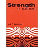 STRENGTH OF MATERIALS (DOVER BOOKS ON ENGINEERING) BY DEN HARTOG, JACOB P (AUTHOR)PAPERBACK