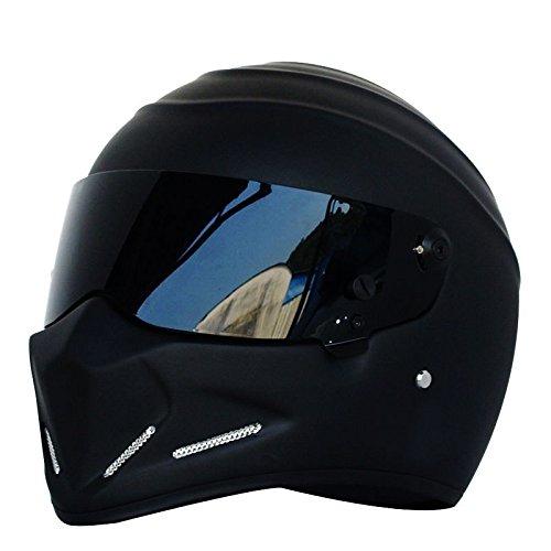 Casco de moto, casco Alien, casco integral, con visera, para Offroad, carreras y Motocross, para Honda, Yamaha, Suzuki, Kawasaki, Bandit, Helm, de LEAGUE&Co
