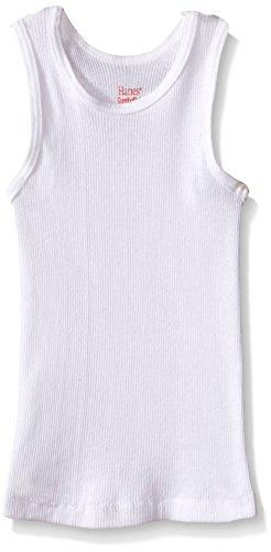 Hanes Toddler Boys' 5 Pack Tank,(White-2T/3T) (Hanes Toddler-shirts)