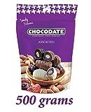 500 g Chocodate - Schokolade Datteln mit Mandeln Sortiert