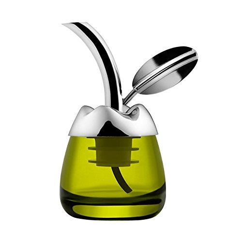 Alessi olive oil dispenser e Taster Fior d' olio. Designer Marta Sansoni. Unico regalo olio d' oliva.