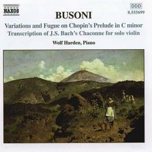 Busoni-Piano Music, Vol 2
