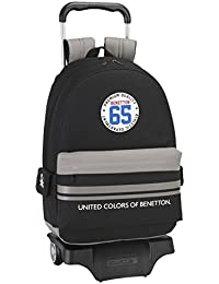 Trolley UCB UNITED COLORS OF BENETTON ATHLETIC grand sac à roulettes
