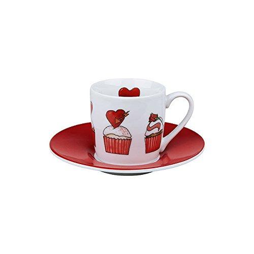 Könitz Espressoset Valentine`s Cupcakes