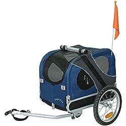 Doggyhut Remorque de vélo pour animaux chien Remorque de Velo pour chien 6030102