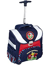 Amaro 3147-00_O5 Kit de rentrée Football Cartable et accessoires Bleu