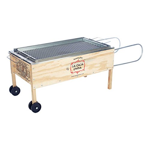 La Caja China Kistensau #1 Roasting Box Kiste Schwein BBQ Grill China-box