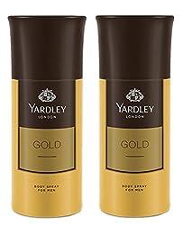 Yardley London Gold Deodorant For Men 150-ML (Pack of 2)
