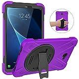 MoKo Coque de Protection pour Samsung Galaxy Tab 10.1(SM-T580/T585, 3 Couches de...