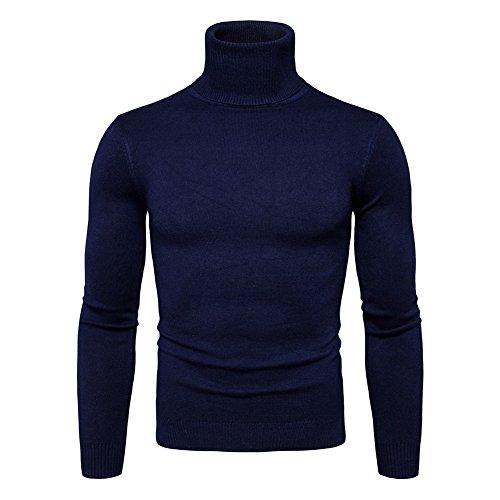 Männer Jungen Strickpullover / Basic Langarm Pullover / Beiläufige Sweatshirt / Warm Jumper Pullover für Herbst Winter / 6 Farben / XS-L (Strickpullover Golf)