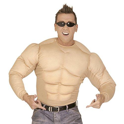 NEU Herren-Kostüm Super Muskel Shirt, Gr. L