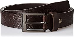 Allen Solly Mens Leather Belt (8907587053516_Medium_Brown)