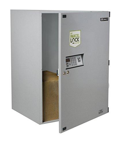 BURG-WÄCHTER Paketbox vor dem Haus für den Empfang und Versand von Paketen Zuhause, Elektronisches Öffnungs- und Schließsystem, eBoxx mit ParcelLock-System, GV 644, Silber - 2