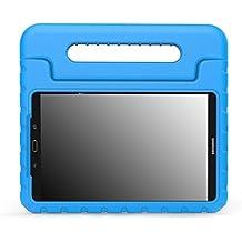MoKo Samsung Galaxy Tab A 10.1 Funda - Ligero y super protective funda diseñar especialmente para los niños para Galaxy Tab A 10.1(SM-T580/T585, sin Lápiz), AZUL