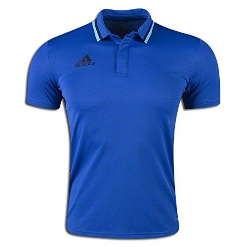 Adidas Condivo 16Herren Fußball Polo, Herren, Blue-navy (Leichte Adidas Uniform)