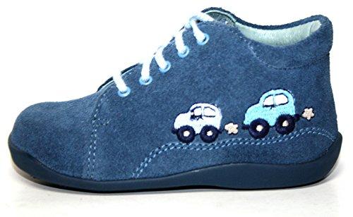 Siesta by Richter , Chaussures de ville à lacets pour fille argent Silber Blau (Pacific)