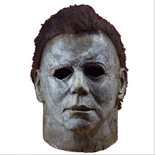 Myers Kostüm Scary Michael - 2019 Michael Myers Maske Halloween Cosplay Horror Full Face Mask Scary Movie Charakter Erwachsene Cosplay Kostüm Requisiten Spielzeug