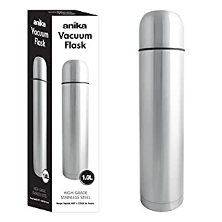 Anika 1 Litre Stainless Steel Vacuum Flask