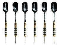 Darts mit Stahlspitze (6er-Set) von Signature Sports - 23 g |...