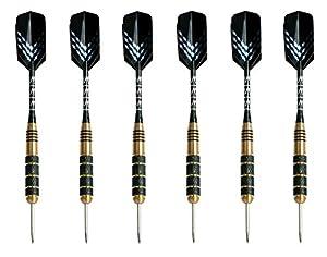 Darts mit Stahlspitze(6er-Set) von Signature Sports - 23 g |...