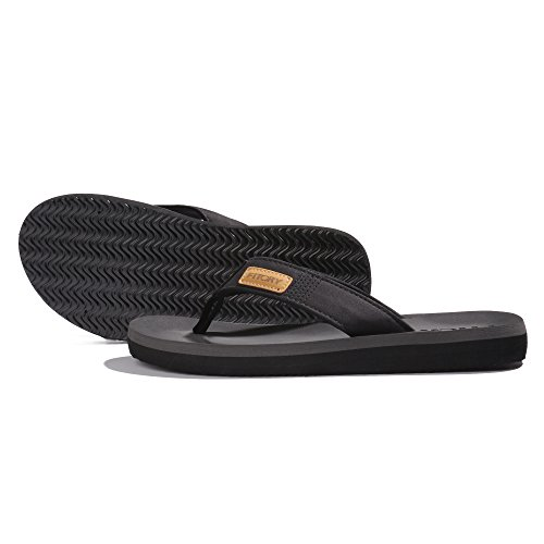 fc8904176d4f FITORY Men s Flip-Flop Thong Sandals With Arch Support Light Weight ...