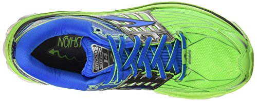 Brooks Glycerin 14, Chaussures de Course Homme Vert (Greengecko/electricbluelemonade/anthracite)