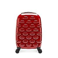 Lulu Guinness Hardsided Lips Spinner Roller Case, 56 cm, 33 liters, Red