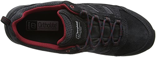 Berghaus Herren Expeditor Active Aq Tech Shoes Trekking-& Wanderhalbschuhe Mehrfarbig (Dark Grey/red B86)
