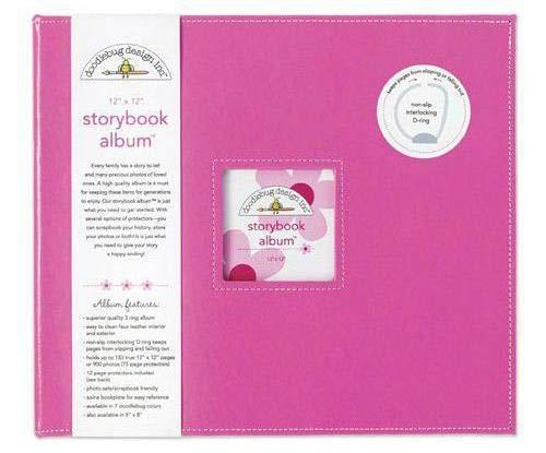 Album 30,5x30,5cm, D-ring Bubblegum, Doodlebug Design Inc, 30x30cm, Alba Blöcke, Scrapbooking Papier - Doodlebug Doodlebug Design Album