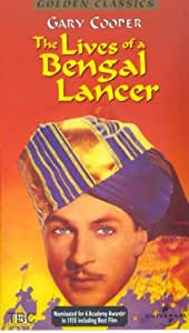 The Lives Of A Bengal Lancer [VHS]