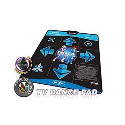 DDR Game 16-Bit Graphics TV Plug & Play Single Player Dance Pad with 15 Songs by DDRgame (Dance Dance Revolution Ddr Tv Pad)