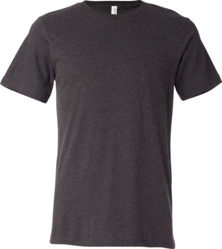 Treask Canvas Men's Jersey Pocket T-Shirt 4DARK GREY HEATHER