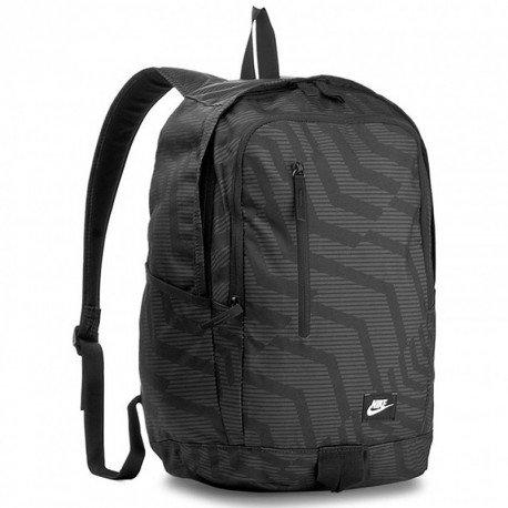 Nike NK All Access Soleday bkpk-aop Rucksack, Unisex für Erwachsene, Unisex – Erwachsene, NK ALL ACCESS SOLEDAY BKPK-AOP, schwarz / (schwarz / weiß) (Rucksack Laptop Nike)