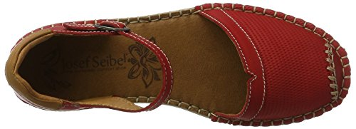 Josef Seibel Sofie 19, Sandales  Bout ouvert femme Rot (rot-multi)