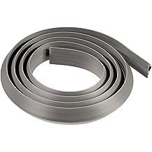 Hama 00020595 - Canaletas flexibles para cables, 3 cm x 1,8 m, color gris