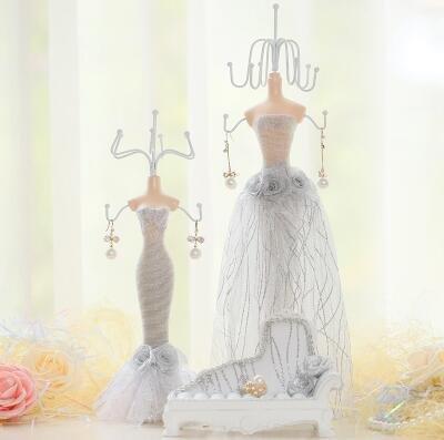 SZY Bijoux/bijoux boîte/bijoux/bijoux organisateur/Accueil mobilier/dressing table décorations/bijoux présentoir , champagne White