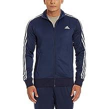 adidas ESS 3S TTOP - Chaqueta para hombre, color azul marino