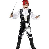 Smiffy's - Costume da pirata, Bambino, taglia: