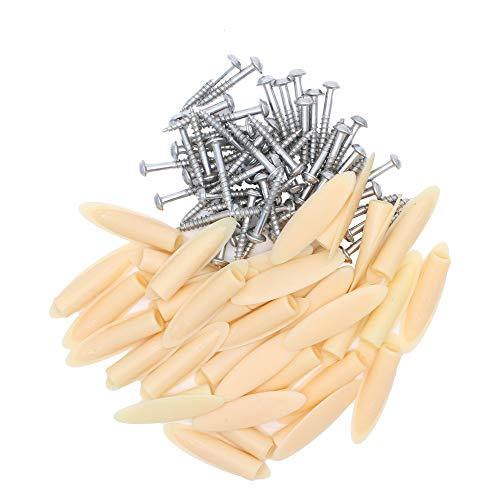 200pcs Pocket Hole Jig Screws Plugs Kit für Kreg Jigs Holzstäuben Joinery Clamping Master System Woodworking Drilling Tools