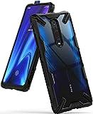 Ringke Coque Xiaomi Mi 9T (Mi 9T Pro), Coque Redmi K20 (Redmi K20 Pro) [Fusion-X] Transparente Antichoc de Protection Résistant aux Rayures PC Solide Rigide TPU Bumper - Noir (Black)