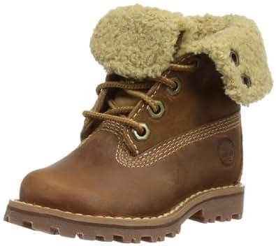 """Timberland 6"""" Shearling Classic, Unisex Kids' Boots, Rust Nubuck, 4 Child UK (20.5 EU)"""
