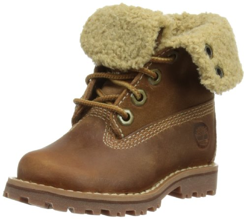 Timberland Kids' 6 Inch Waterproof Shearling Boot