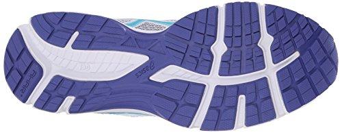 Asics Gel-Excite 3 Maschenweite Laufschuh White/Scuba Blue/Acai